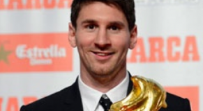 messi trophé ballon d'or