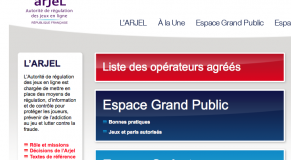 site arjel france