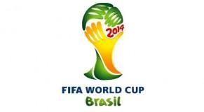 logo coupe du monde brésil 2014 jaune et vert