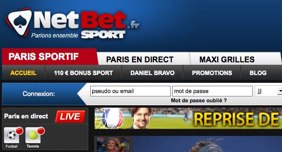 Notre avis sur NetBetSport.fr