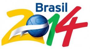 Logo coupe du monde brésil