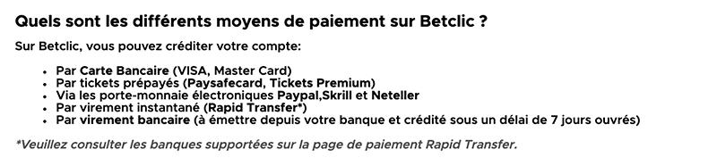 betclic paiements