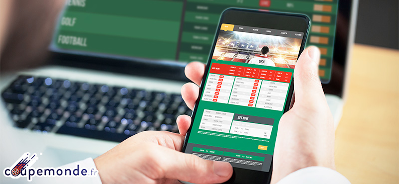 coupe monde betting application